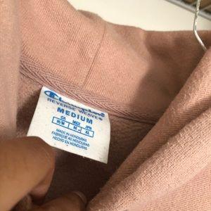Champion Shirts - Champion UO Reverse Weave Pink/Mauve Hoodie